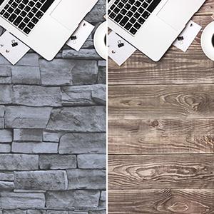 3d grey brick wallpaper peel and stick