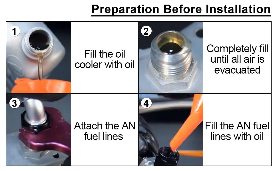 preparation before installation