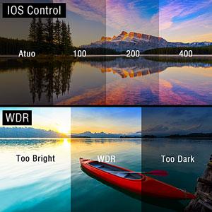 ISO&WDR&AWB