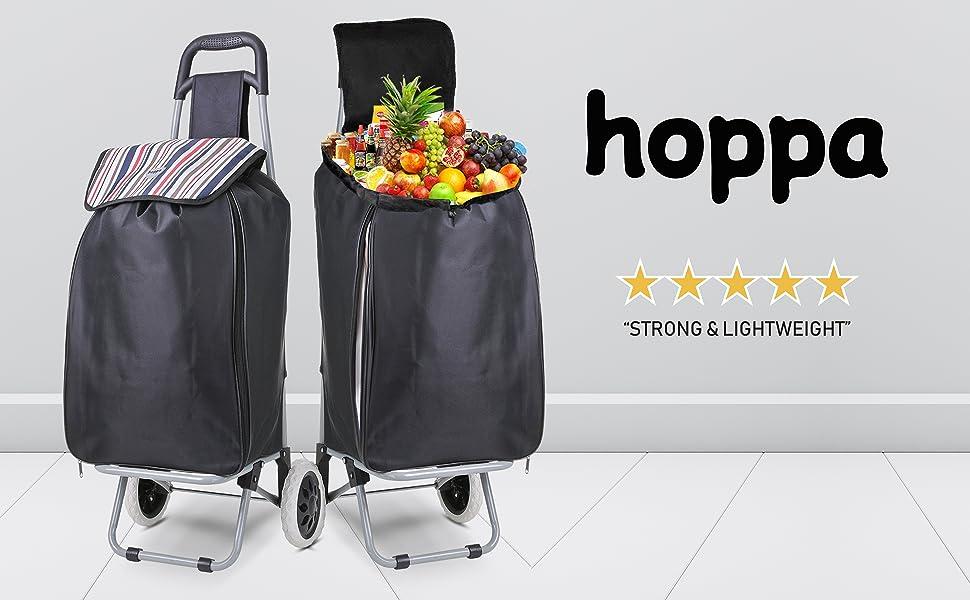 Hoppa Expanding Shopping Trolley