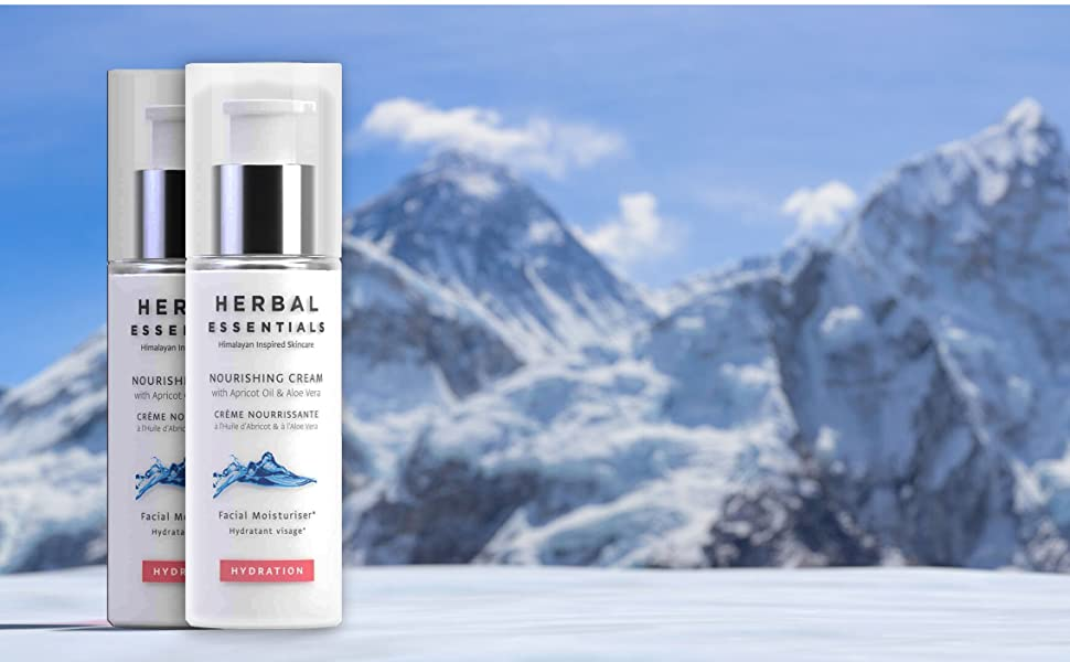 herbal essentials, himalayan health care, skin care, face cream, moisturiser, skin toner