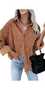 corduroy shirt women