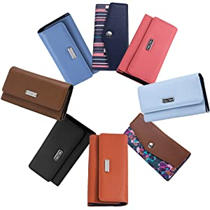 nautica wallet women wallet clutch wallets for women rfid blocking wallet for women checkbook holder