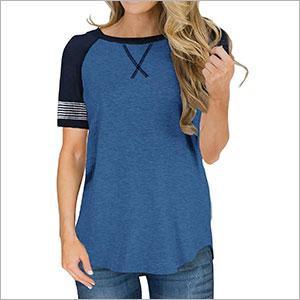 short sleeve shirts for women