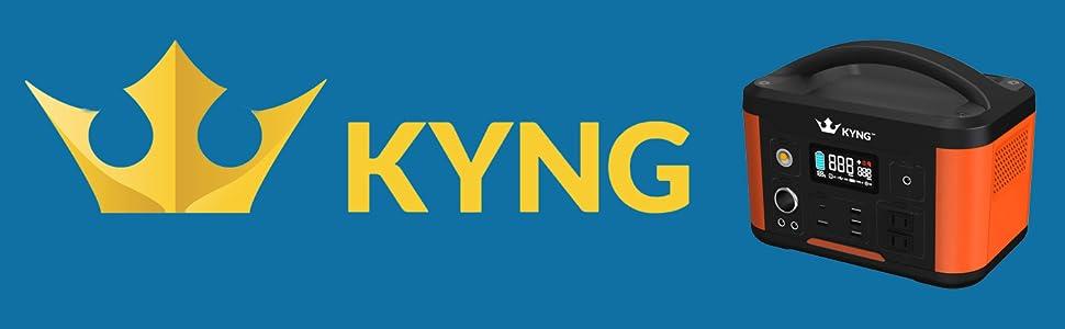 Kyng 300w Power Solar Generator Portable Power Station