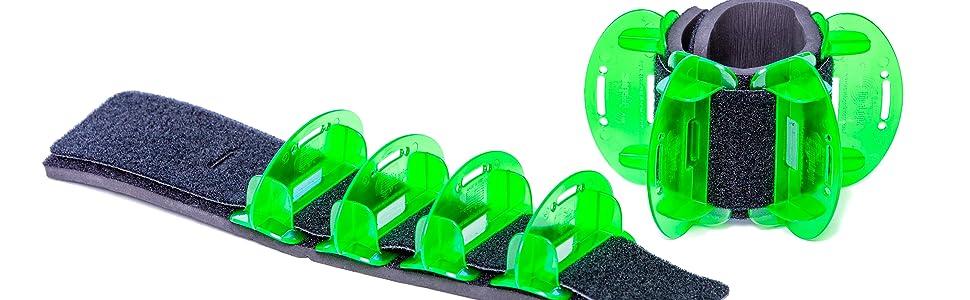 Aqualogix Low Resistance Green Hybrid Fins