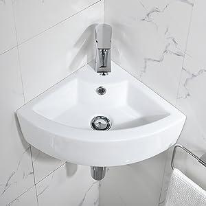 corner small sink
