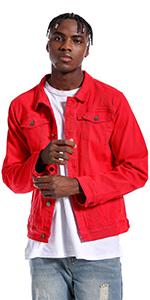 Jean jacket for men denim jacket mens jean jackets for men jean jacket Dark Blue jean jacket men