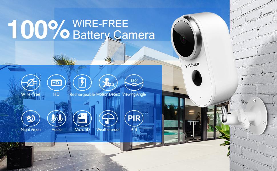 battery hd camera home