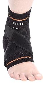8 strap ankle compression brace