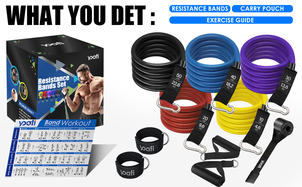 exercise bands workout bands