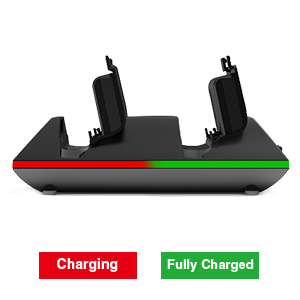 Check the charging status at a glance