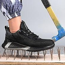 Work Trainers Steel Toe Caps Sport Sneakers