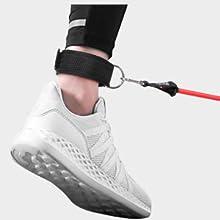 para Fitness Gimnasio Juego de Cuerdas Gomas El/ásticas para Gym//Home Pilates Entrenamiento MISSJJ Bandas Yoga de Resistencia Yoga etc.