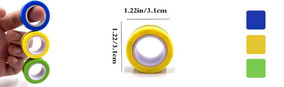 fidget-magnetic-rings