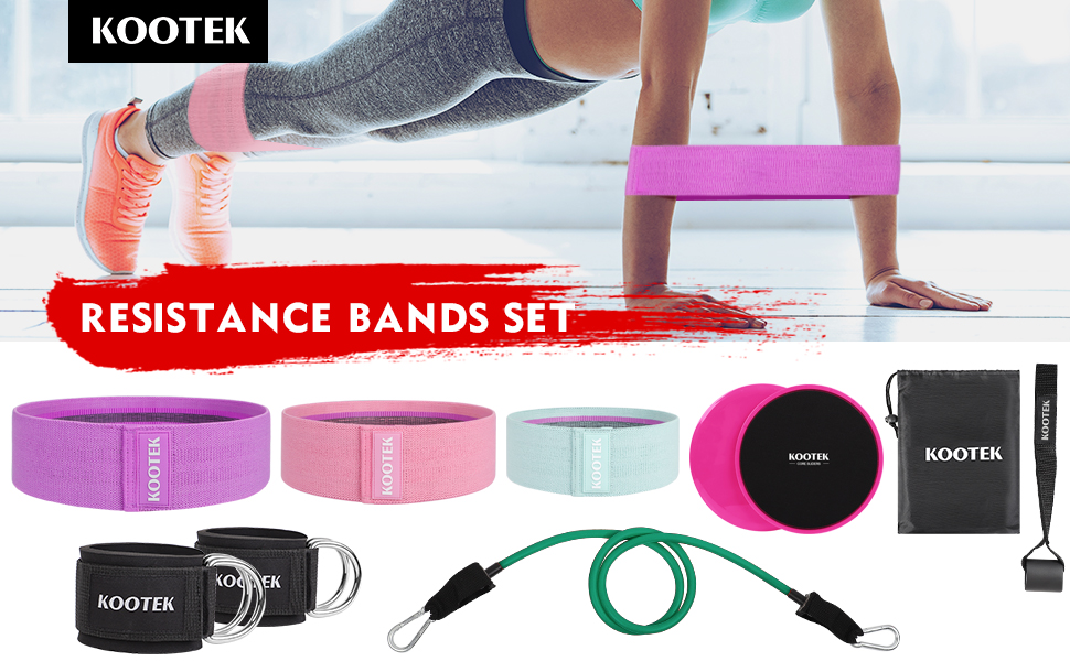 Resistance Loop Bands Set