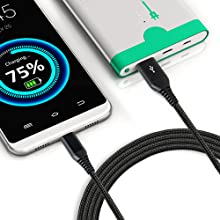 usb c charging cord 15ft