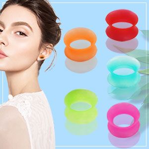 silicone tunnels gauges