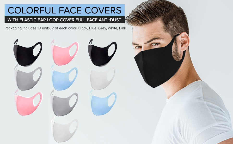 mascarillas negras de tela makss cover madk coolface faces under armour petite facemasks spandex