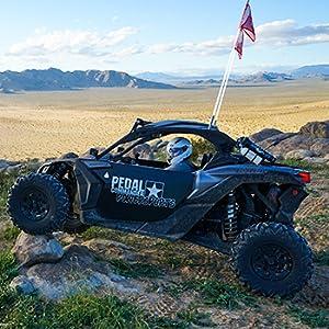 traction wheels 4x4 x3 turbo flag
