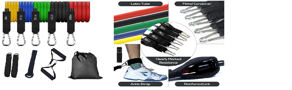 Adjustable exercise bands