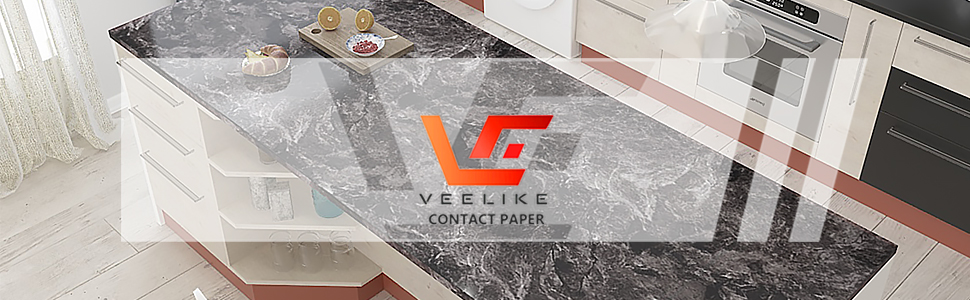 dark marble contact paper