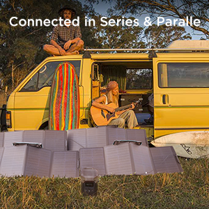chainable solar panel