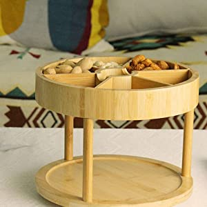 bamboo material spice rack