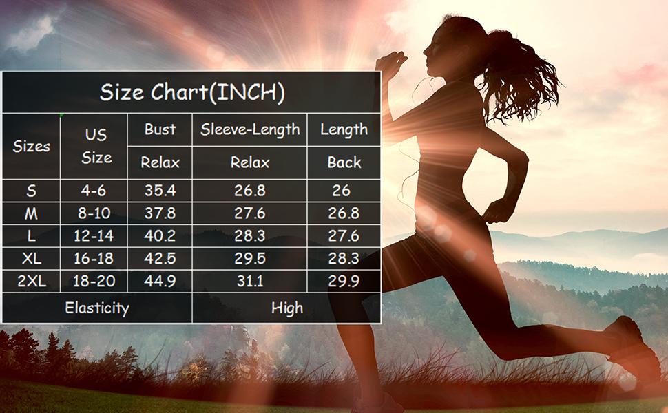 Women's UPF 50+ UV Sun Protection Long Sleeve Performance Slim Fit T-Shirt