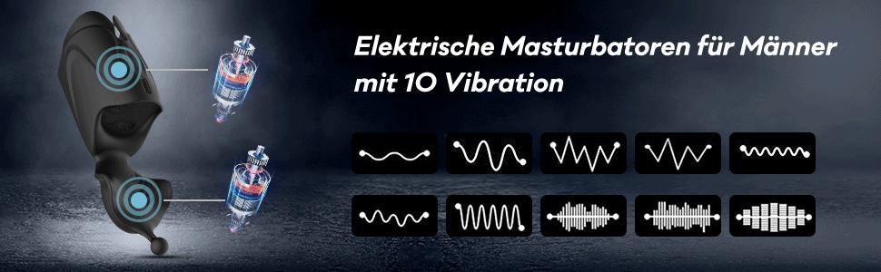 Penis Trainer Vibrator Elektrische Cup Masturbatoren Sexspielzeug für Mann penisschalle