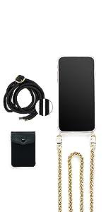 handy handykette phone phone case case chain necklace trend jalouza Berlin gadget accessoir