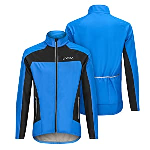 Lixada Cycling Jersey Mens Windproof Waterproof