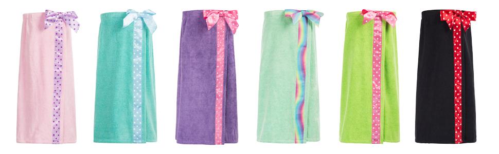 kids bath wrap robe