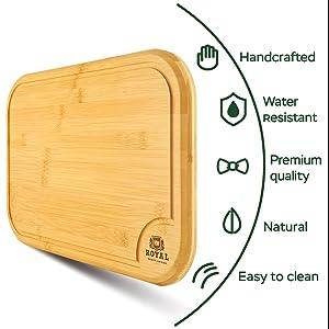 three cutting boards