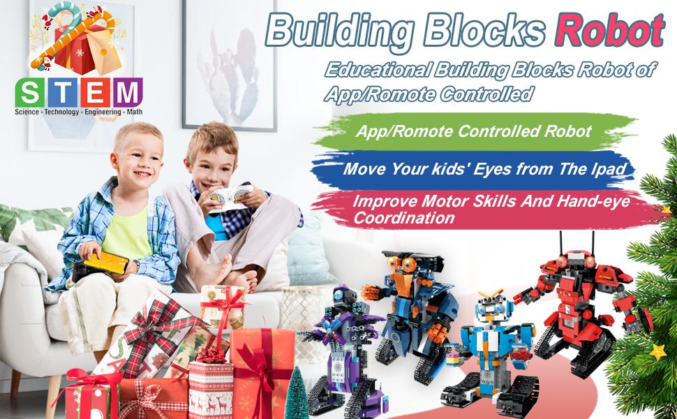 building block robot