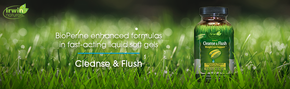 cleanse and flush weight loss support