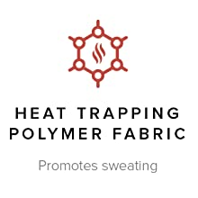 Heat Trapping Polymer Fabric Promotes sweating