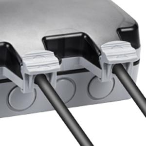Piscina y Jard/ín Conector de Cable y Tapa Abatible Garaje SHYOSUCCE Enchufe de Exteriores con Interruptor Enchufe de Impermeable IP66 Toma de Pared para Cocina Ba/ño