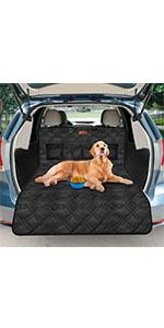 Looxmmer Universal Kofferraumschutz für Hunde, Kofferraumdecke Kofferraumschutzmatte