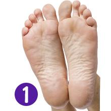 dry dead skin der-mora la-vinso bea-luz exfoliation exfoliator peal pretty feet pies lavender pedi