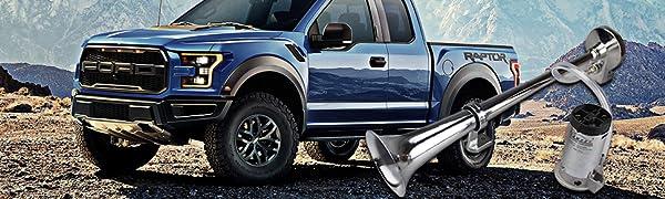 Klaxon universel trompe air horn compresseur chrome de voiture camion 12V 150 dB