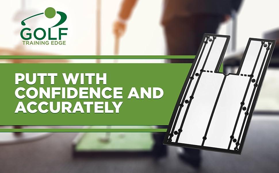 golfer accessory club putters birdie aide guide arc aimer pocket indoor rail strokes golf mirror
