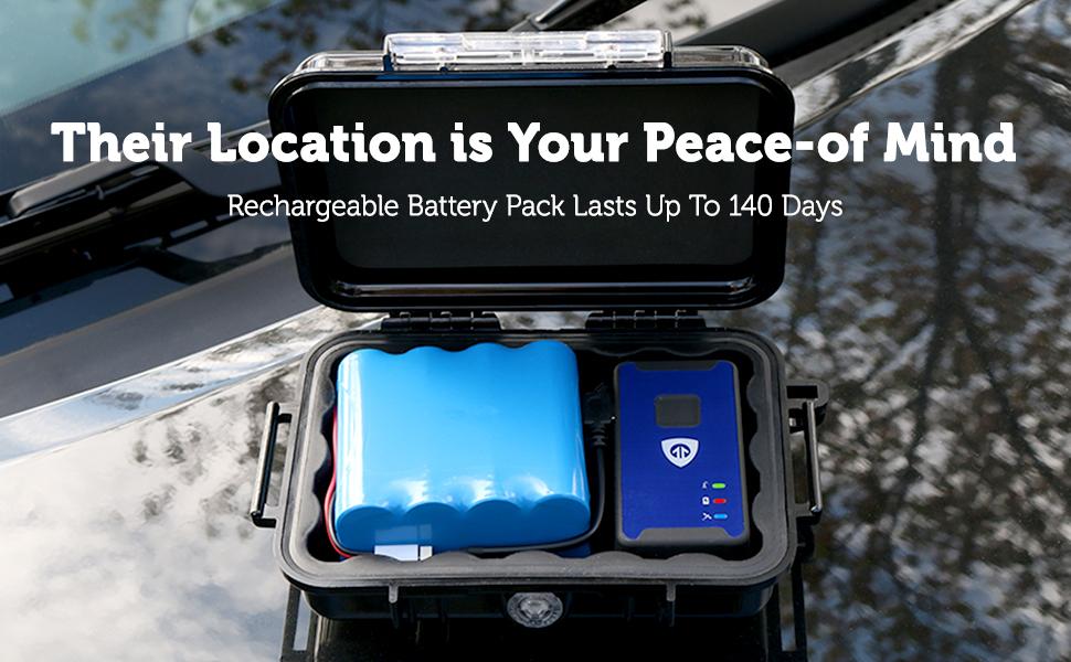 140 Day Extended Battery Nano GPS Tracker