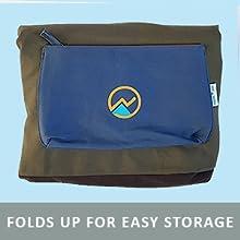 Multi-Functional spacious foldable Extra Large Yoga Mat Duffel Bags