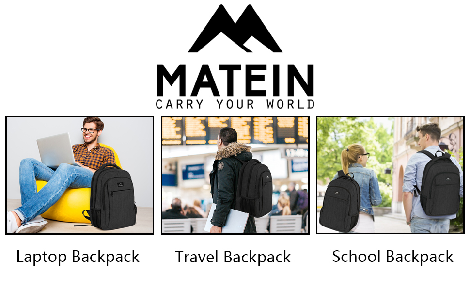 MATEIN laptop backpack for men