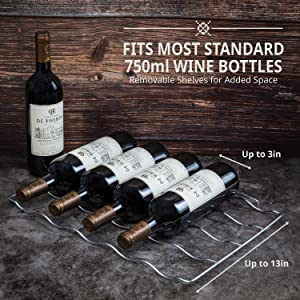 Ivation wine cooler for 750 ml bottle