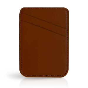 Brown iphone wallet
