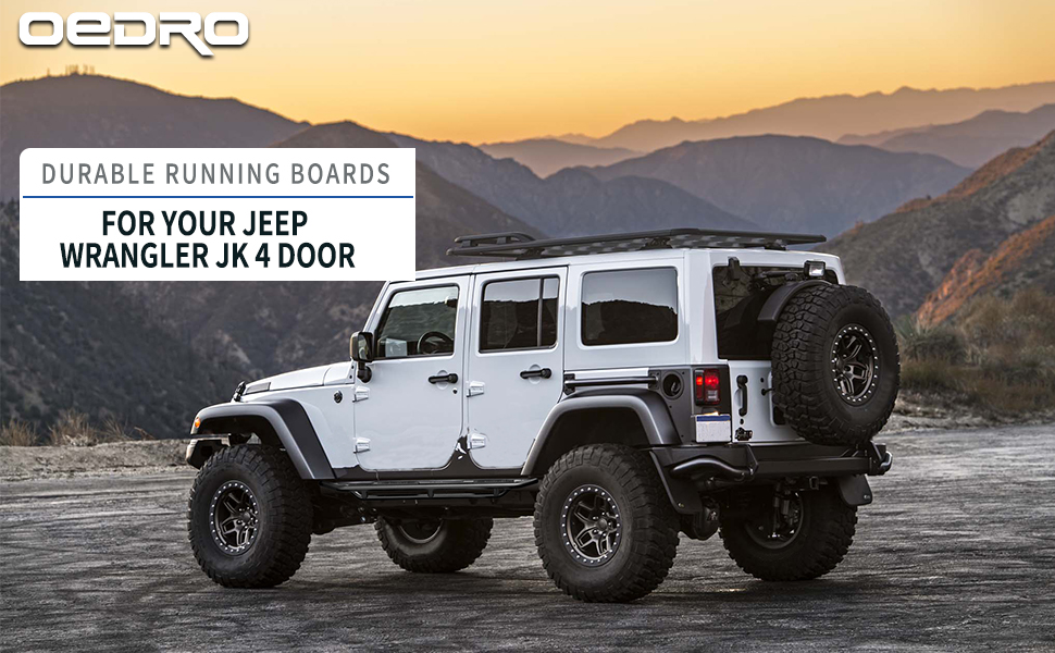 OEDRO RUNNING BOARDS