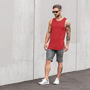 Men's 3 Pack Quick Dry Workout Tank Top