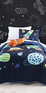 space bedsheet